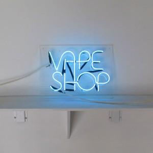 Vape Shop - Smoke Shop - Clear Blue - Argon