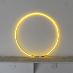 "Yellow Circle - 20"" - Neon Only"