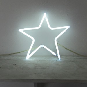 "6500 White Star - 11.5"" x 12"" - Neon Only"