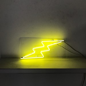 lightning bolt yellow electricity jolt zap zigzag