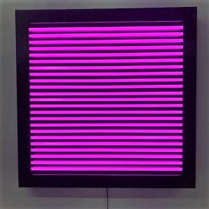 Art Shapes window neon blinds blinds box square