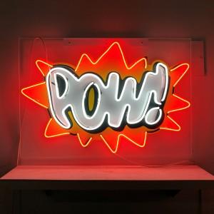 Pow POW energy comic sound action